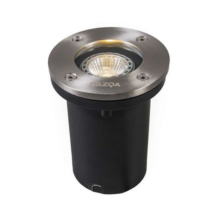 Set-of-6-outdoor-ground-spots-steel-IP65-incl-LED---Basic-Round