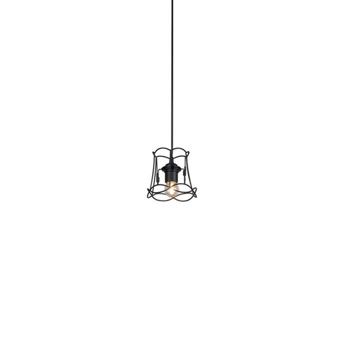 Retro-hanging-lamp-black-15-cm---Granny-Frame