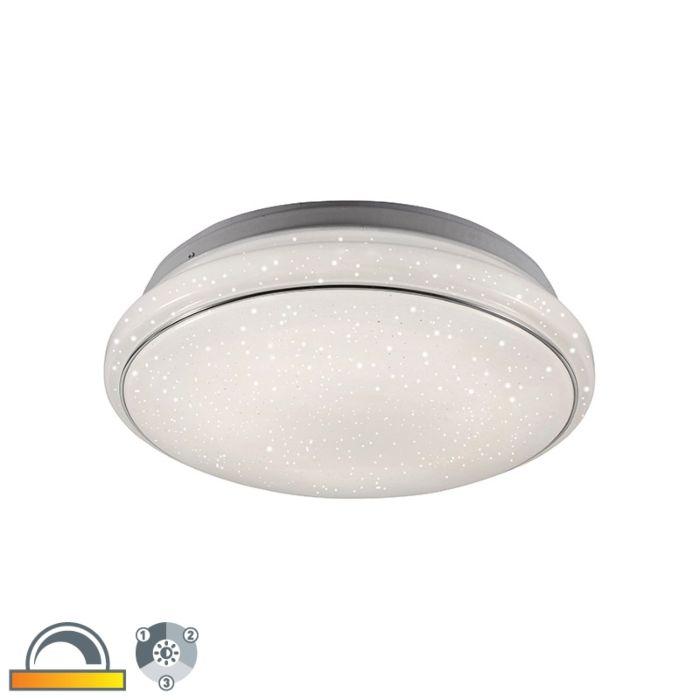 Modern-Ceiling-Lamp-White-3-in-1-incl.-LED---Mars