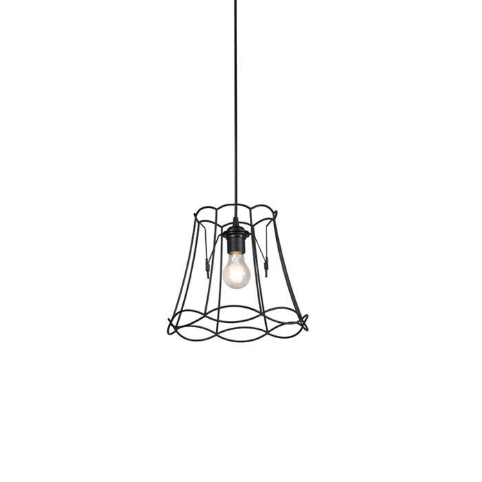 Retro-hanging-lamp-black-30-cm---Granny-Frame