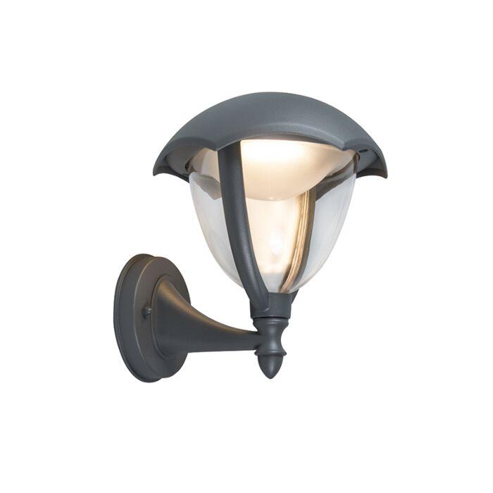 Modern-Outdoor-Wall-Lamp-Up-Aluminium-incl.-LED---Cappe