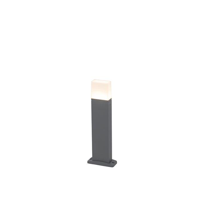 Modern-outdoor-lamp-dark-gray-45cm-incl.-LED-IP54---Malia
