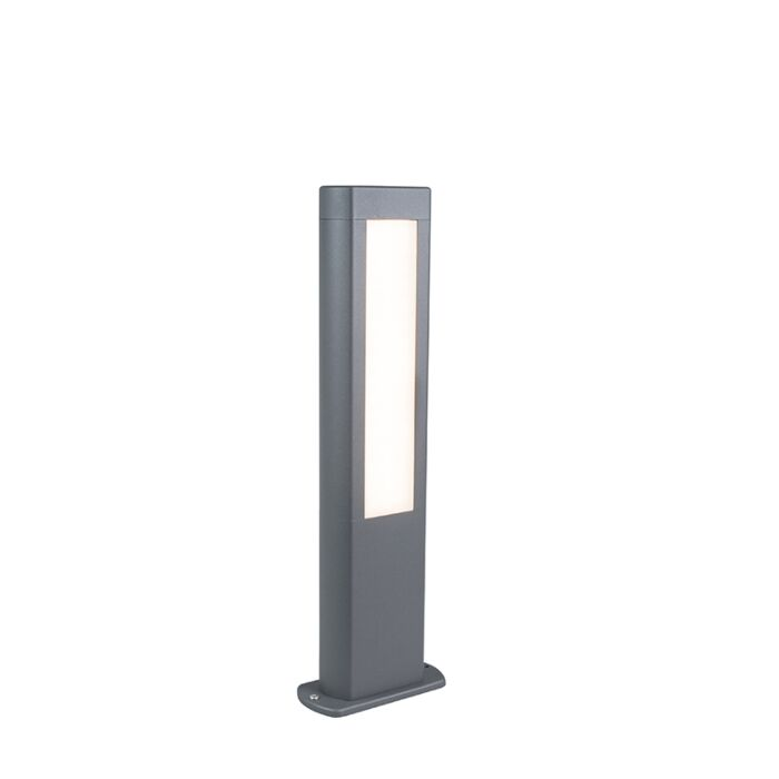 Modern-Outdoor-Pole-50cm-Dark-Grey-incl.-LED---Polo