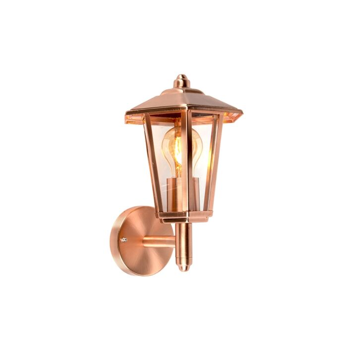 Outdoor-wall-lamp-copper-IP44---New-Port-up