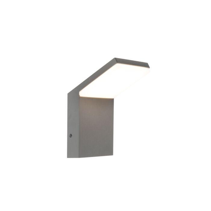 Modern-Outdoor-Wall-Lamp-Dark-Grey-incl.-LED---Mapi