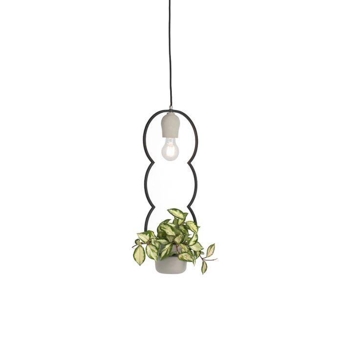 Country-Pendant-Lamp-Concrete/Stone---Fauna-B