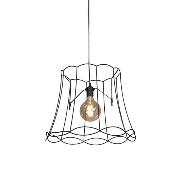 Retro-hanging-lamp-black-50-cm---Granny-Frame
