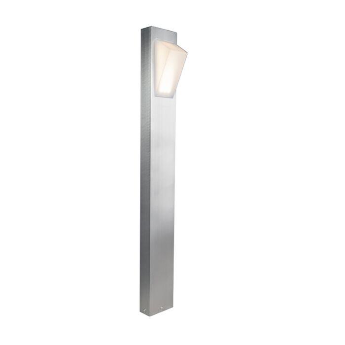 Modern-Outdoor-Pole-80cm-Steel-incl.-LED---Tori
