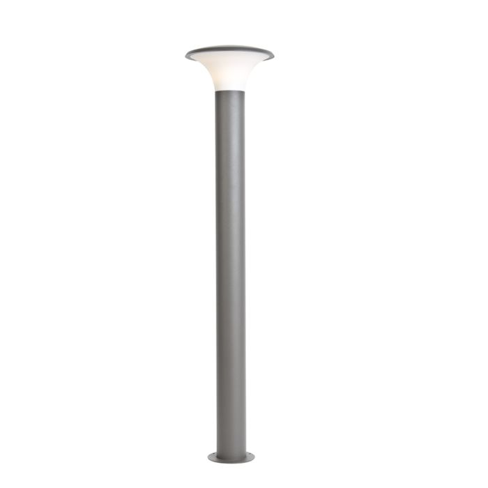 Modern-Outdoor-Pole-120cm-Dark-Grey-incl.-LED---Papi