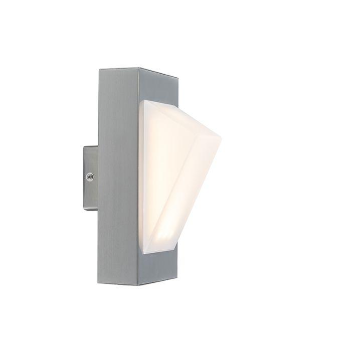 Modern-Outdoor-Wall-Lamp-Steel-incl.-LED---Tori