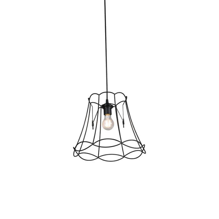 Retro-hanging-lamp-black-35-cm---Granny-Frame