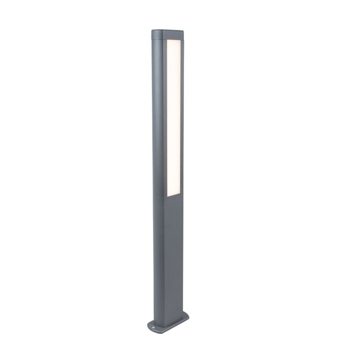 Modern-Outdoor-Pole-100cm-Dark-Grey-incl.-LED---Polo