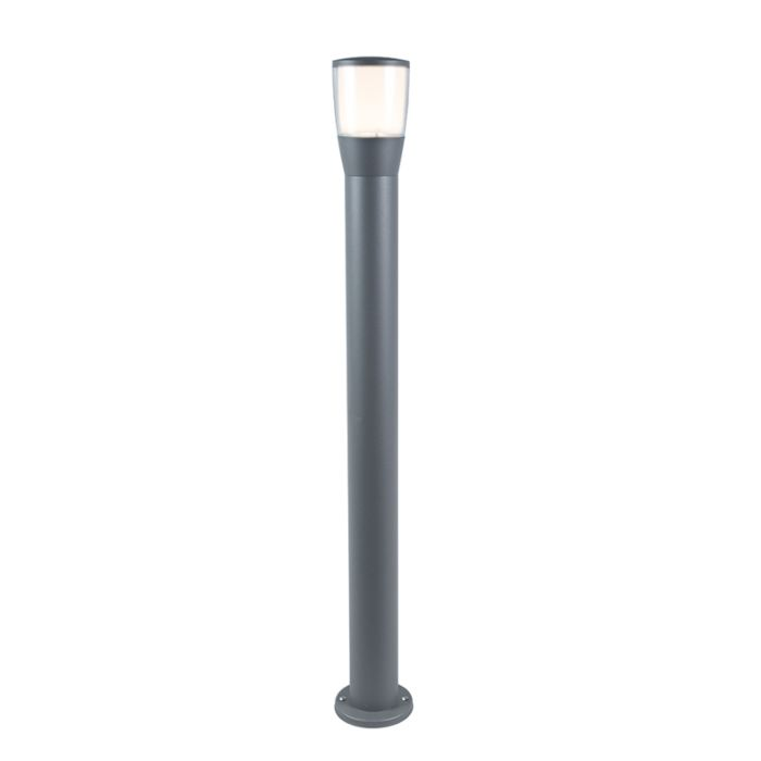 Modern-Outdoor-Pole-100cm-Grey-incl.-LED---Mona