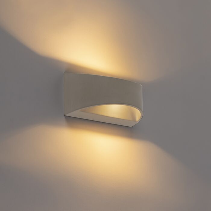 Country-Half-Round-Wall-Lamp-Concrete-Grey---Adelaide