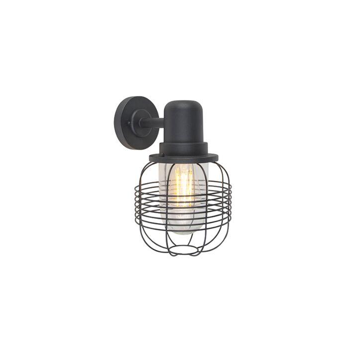 Country-wall-light-black-IP44---Guardado