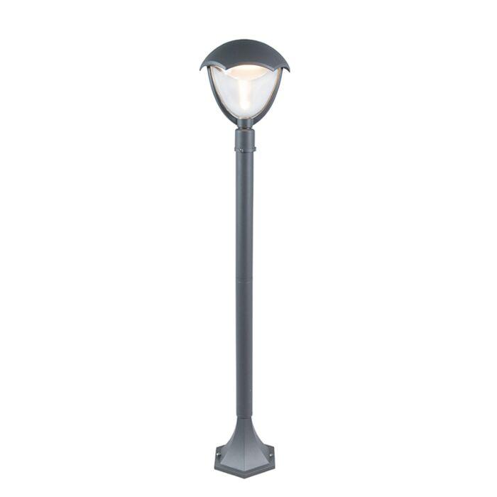 Modern-Outdoor-Pole-100cm-Aluminium-incl.-LED---Cappe