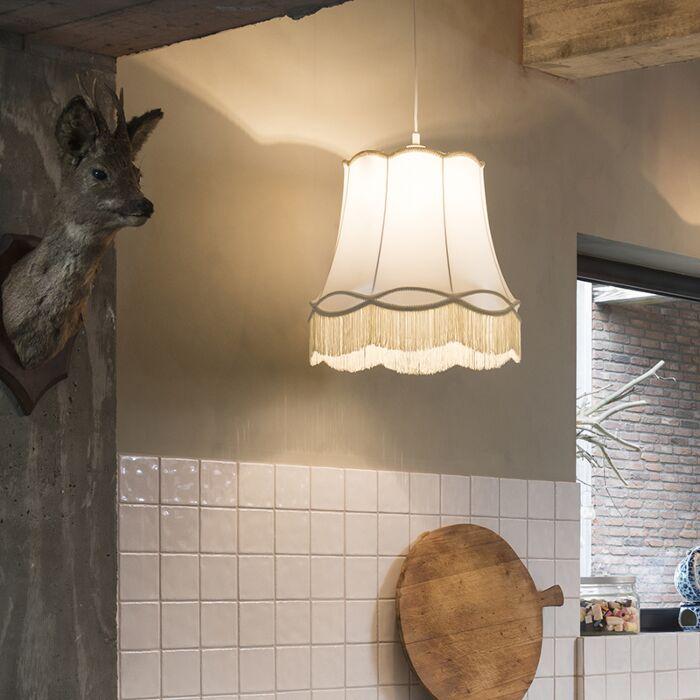 Retro-hanging-lamp-cream-45-cm---Granny