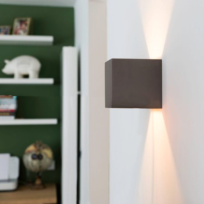 Industrial-wall-lamp-concrete---Box