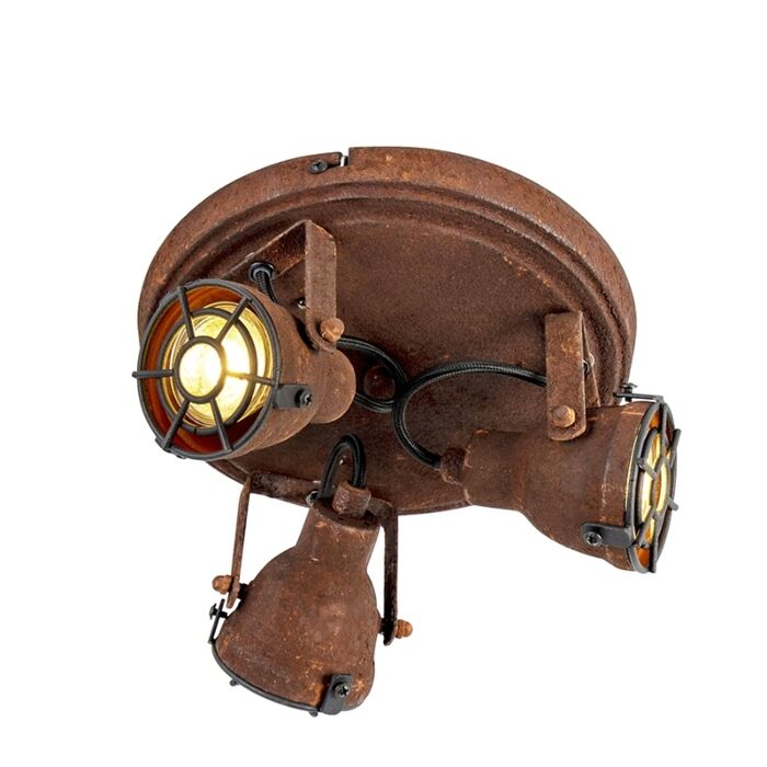 Sturdy-Ceiling-Spotlight-3-Rust---Sorra