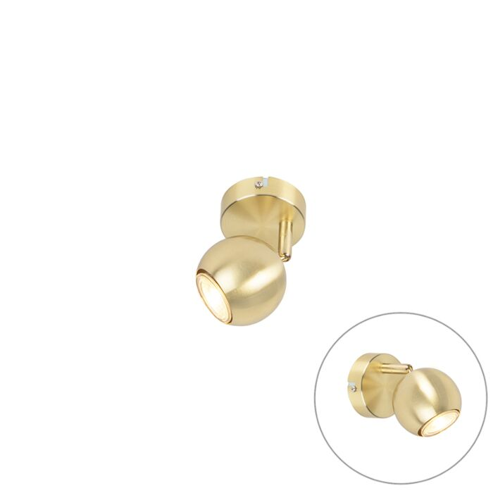 Modern-Round-Spotlight-1-Brass---Gissi