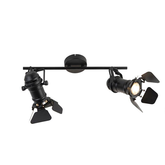 Industrial-spotlight-black-2-light-with-valves---Movie