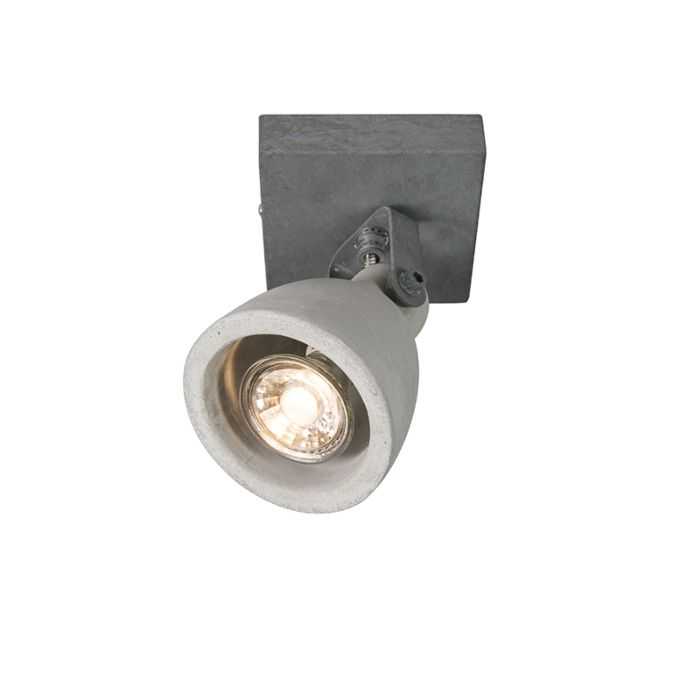 Set-of-2-industrial-spots-gray-concrete-1-light---Creto