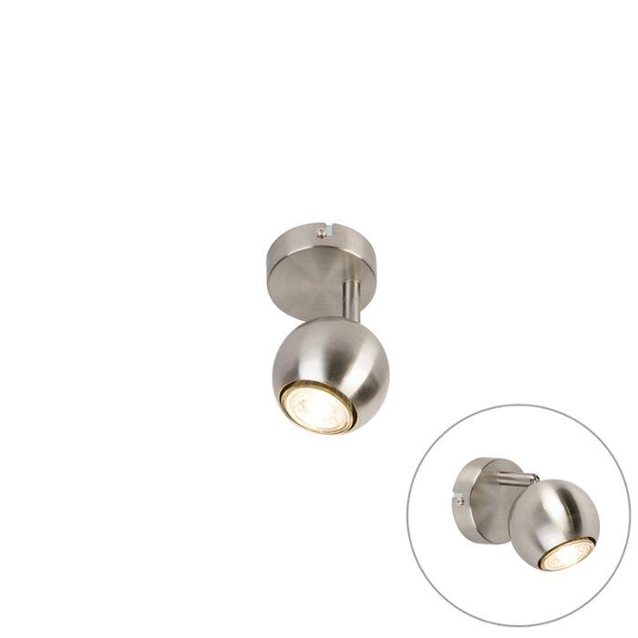 Modern-Round-Spotlight-1-Steel---Gissi