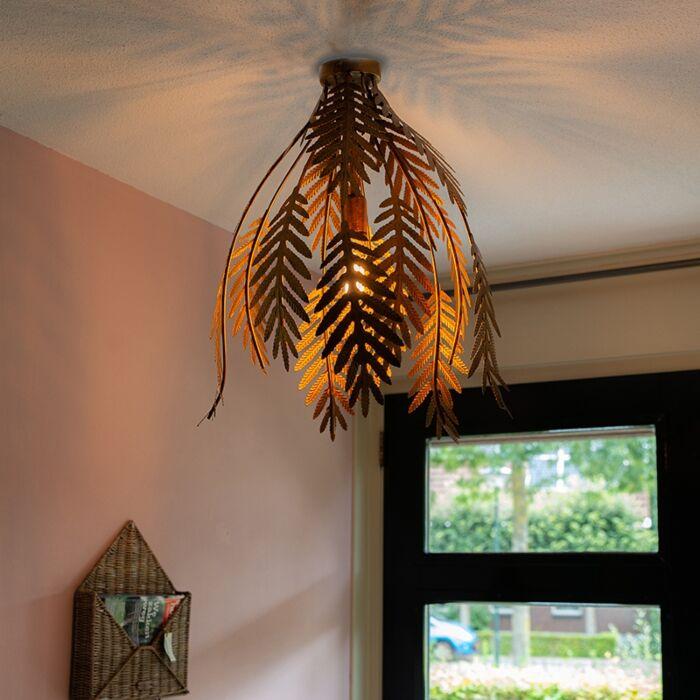 Vintage-Ceiling-Lamp-Leaf-Gold---Botanica