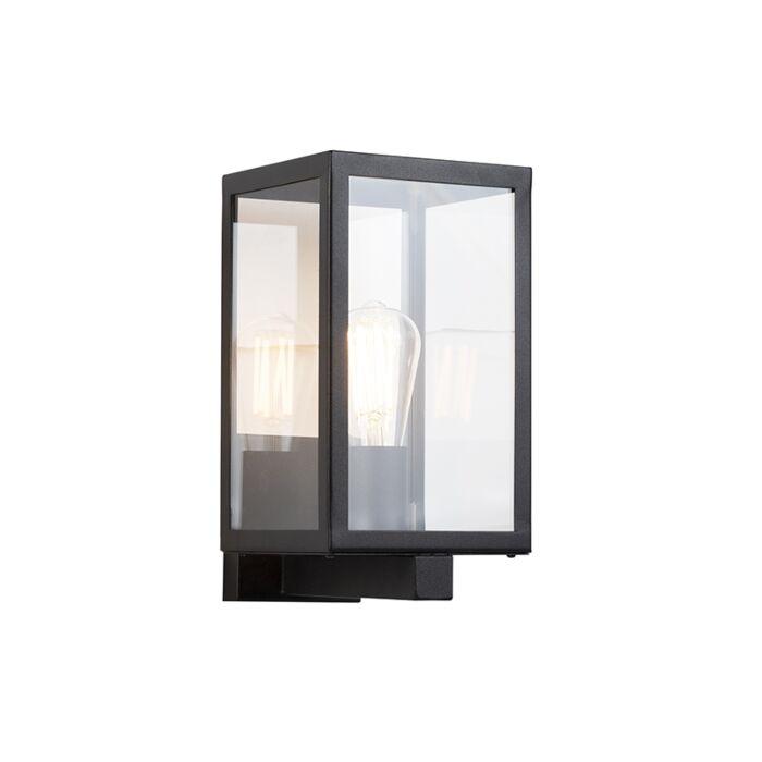 Modern-Rectangle-Wall-Lamp-Black-IP44---Rotterdam-