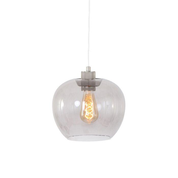 Modern-Pendant-Lamp-Steel-and-Glass---Lori