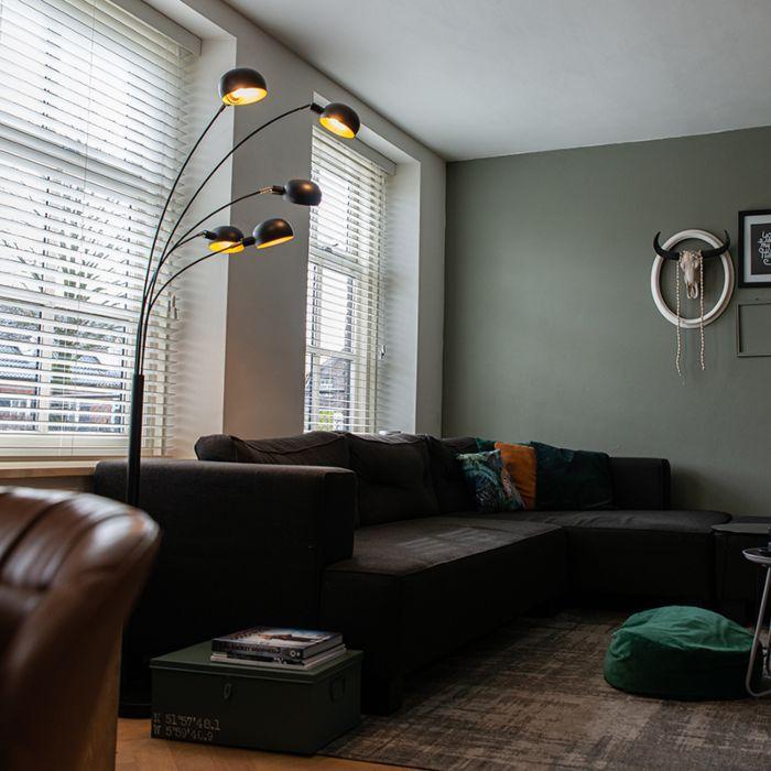 Modern-Floor-Lamp-5-Black---Sixties-Marble
