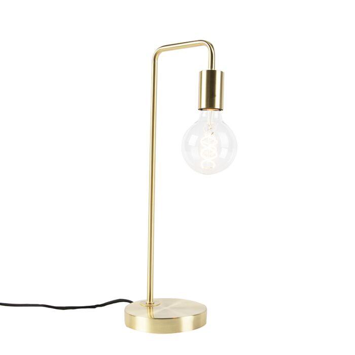 Art-Deco-table-lamp-brass---Facil
