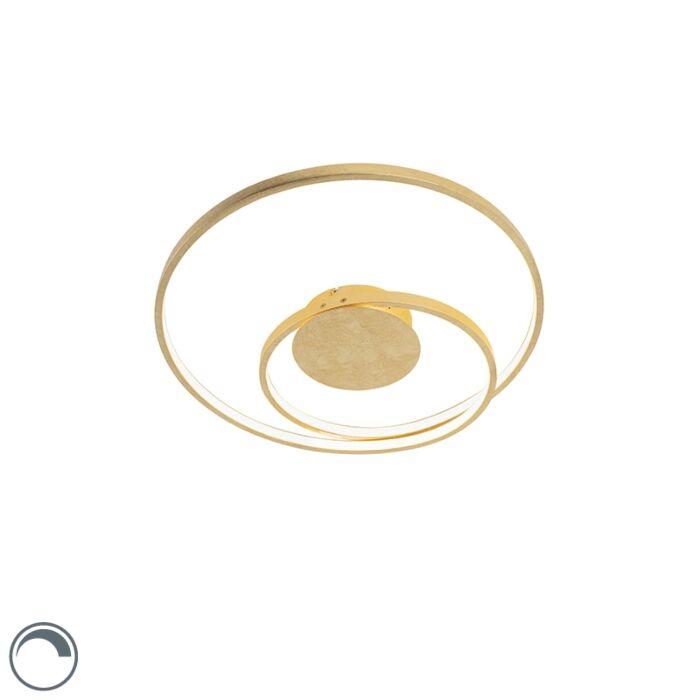Art-Deco-Ceiling-Lamp-Gold-incl.-LED---Rowan-