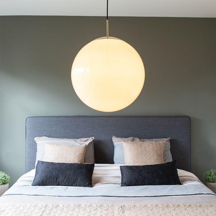 Scandinavian-hanging-lamp-opal-glass-40-cm---Ball-40