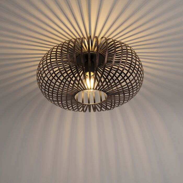 Industrial-Round-Ceiling-Lamp-Brown-Rust---Johanna