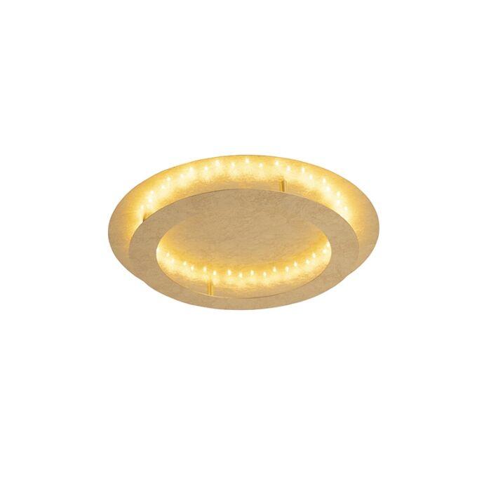 Art-deco-ceiling-lamp-gold-/-brass-50-cm-incl.-LED---Belle