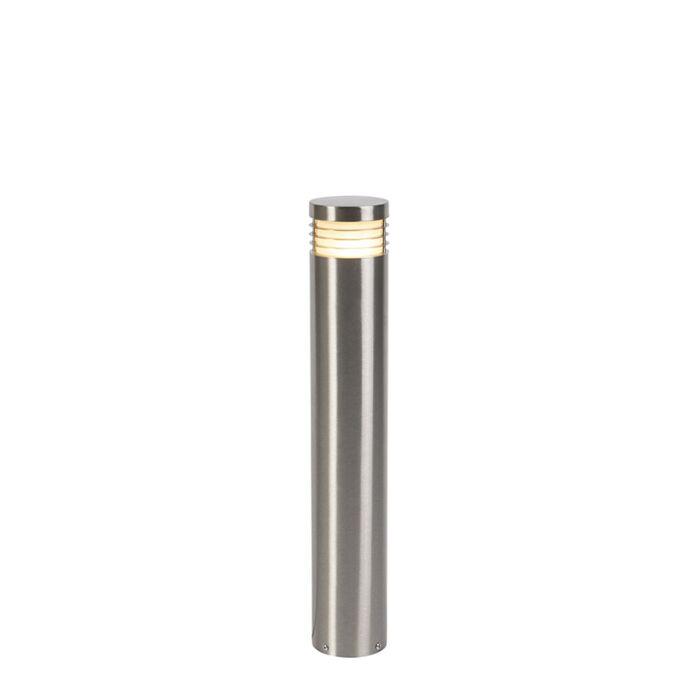 Modern-standing-outdoor-lamp-steel-60-cm-IP44---Doc