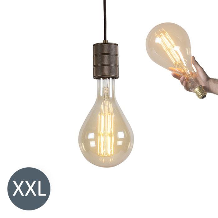 Pendant-Lamp-Splash-with-DImmable-LED-Bulb