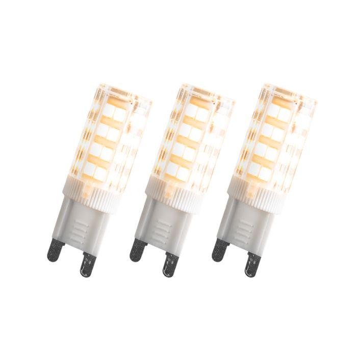 Set-of-3-G9-LED-3.3W-200LM