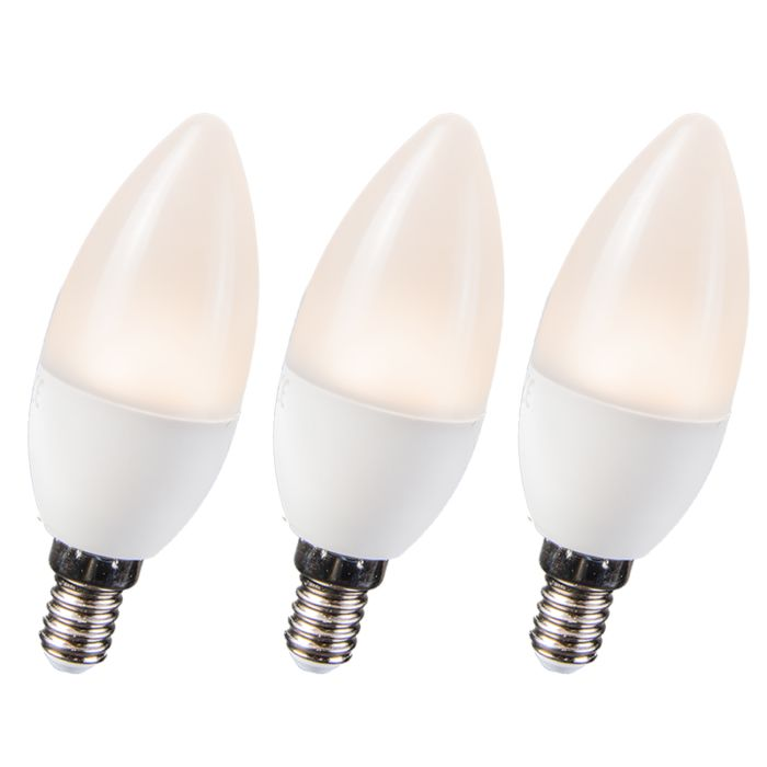 Set-of-3-LED-Bulbs-3.5W-E14-C30-WW