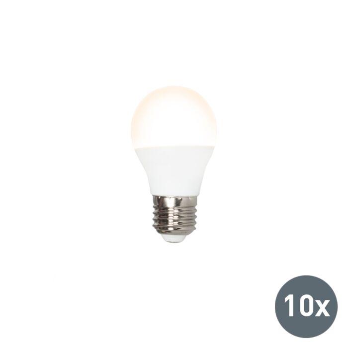 Set-of-10-E27-LED-G45-5W-400LM