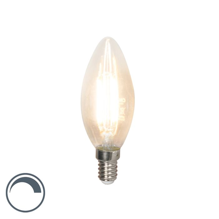 E14-dimmable-LED-filament-candle-lamp-B35-3.5W-350-lm-2700K