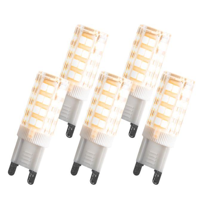 Set-of-5-G9-LED-3.3W-200LM