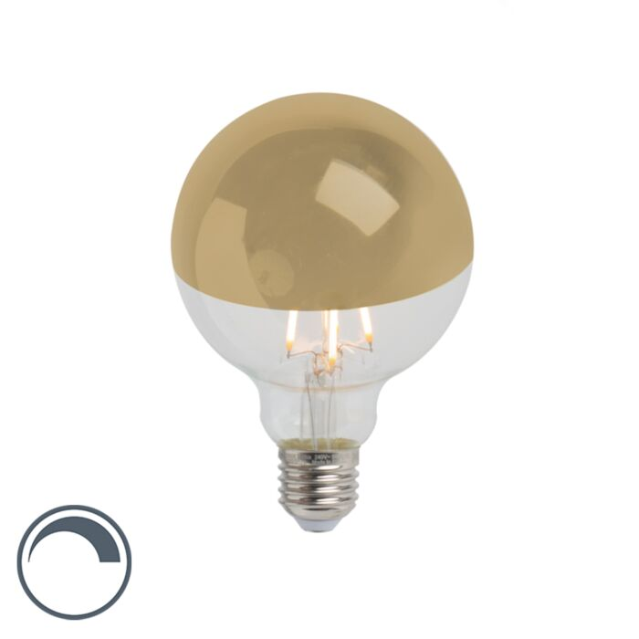 E27-dimmable-LED-filament-lamp-head-mirror-G95-gold-280lm-2300K