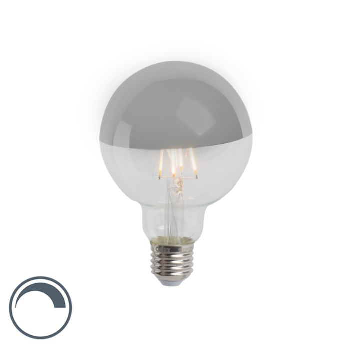 E27-dimmable-LED-filament-lamp-head-mirror-G95-silver-280lm-2300K