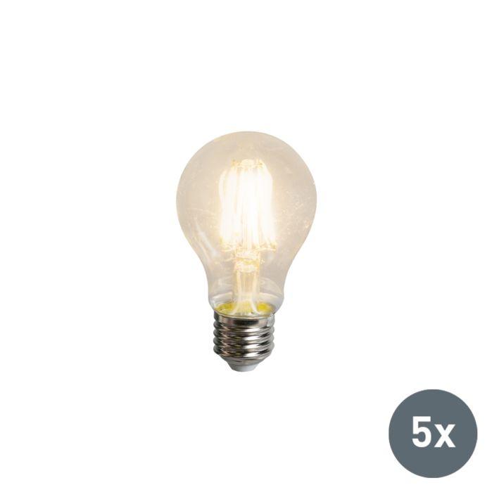 Set-of-5-E27-LED-Filament-A60-5.5W-600LM