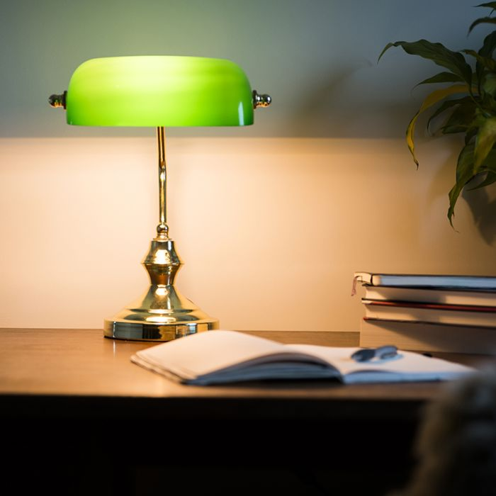 Bankers-Lamp-Gold-with-Green-Shade