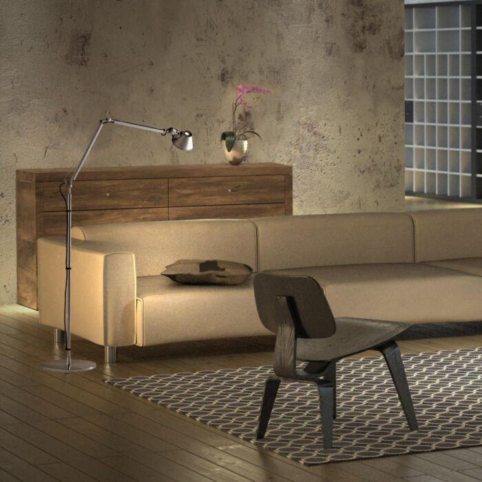 Artemide-floor-lamp-aluminum-adjustable---Artemide-Tolomeo-Terra