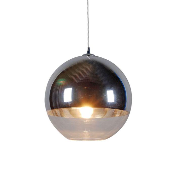 Hanging-lamp-Ball-40-silver