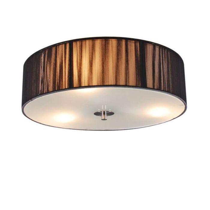 Ceiling-Lamp-Drum-Rope-Round-40-Dark-Grey